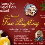 3x2 2019 Christmas Tree Lighting - Springfield Park